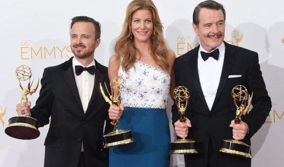 Breaking Bad gran vencedora en los Premios Emmy 2014