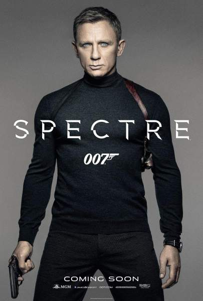 Póster de James Bond: Spectre