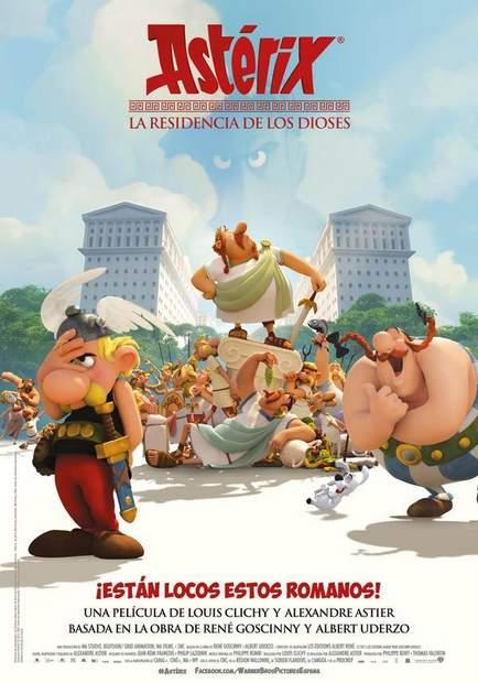 Póster de Asterix: La residencia de los dioses