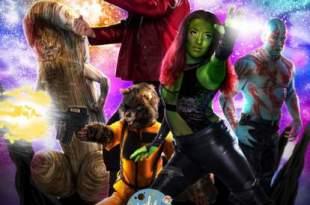 Póster de versión porno de Guardianes de la Galaxia