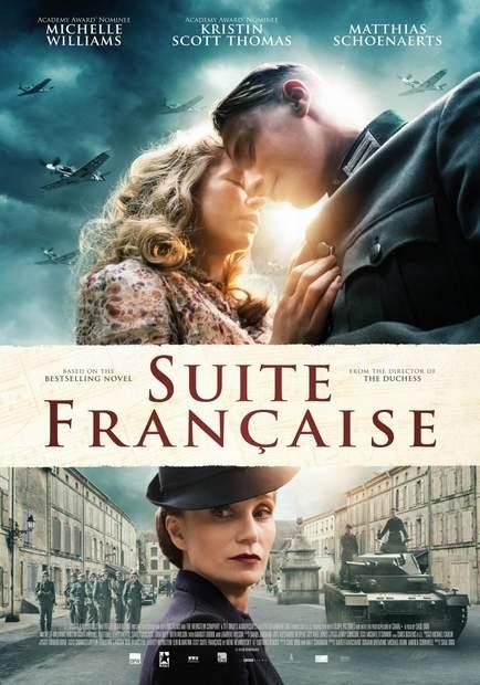 Póster de Suite francesa