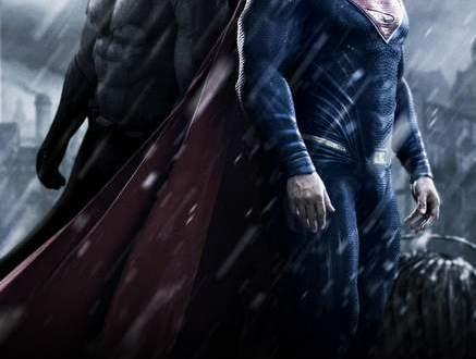 Póster de Batman vs Superman