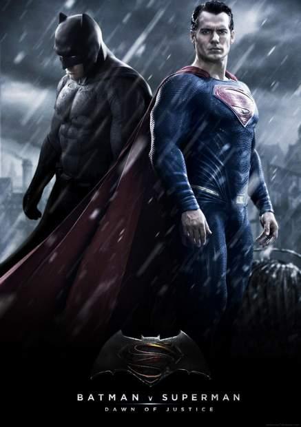 Póster de Batman vs Superman
