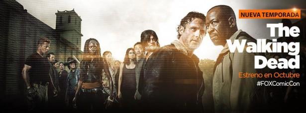 Estreno de la sexta temporada de The Walking Dead
