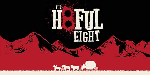 Cartel de The Hateful Eight