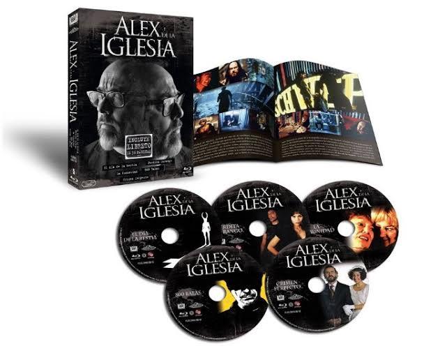 Especial Alex de la Iglesia en Blu-ray