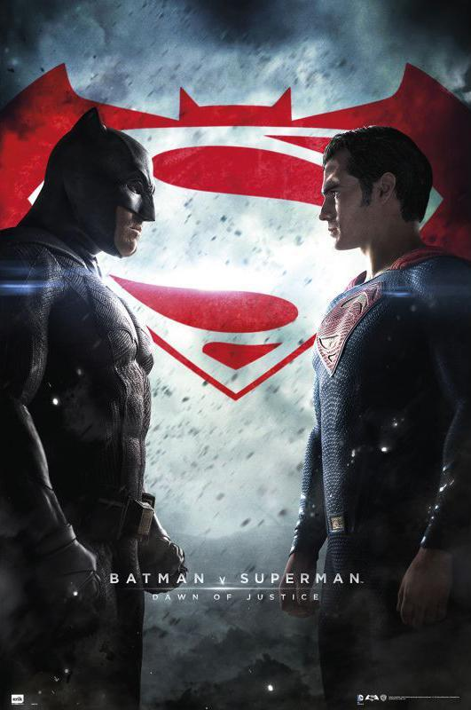 Póster de Batman v Superman: El amanecer de la justicia