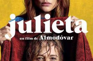 Póster de Julieta de Pedro Almodóvar, nominada premios del cine europeo