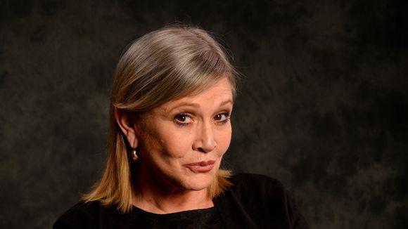 Carrie Fisher, la princesa Leia, en estado crítico