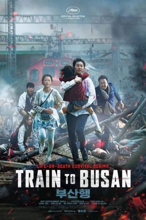 """Póster y crítica de """"Train to Busan"""""""