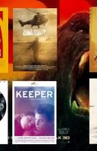 Estrenos de cine del 10 de marzo de 2017. kong bajo la arena, en tierra hostil, con Doña Clara y los corazones rotos