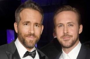 Ryan Reynolds y Ryan Gosling los papás más sexys