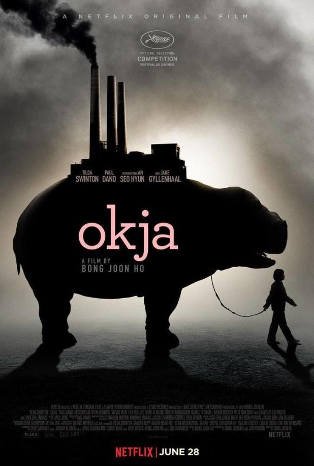Póster y Tráiler de Okja