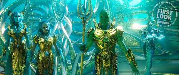 Aquaman: primer vistazo al Fisherman King