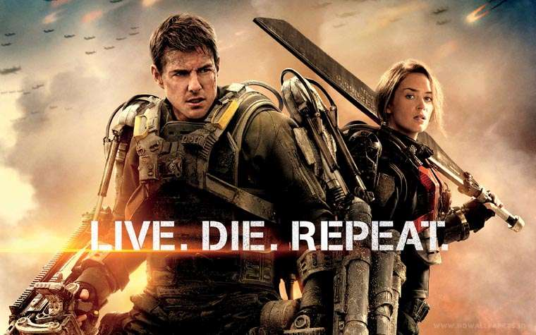 Edge of Tomorrow, Tom Cruise, Doug Liman, Emily Blunt, Matthew Robinson, Live Die Repeat and Repeat