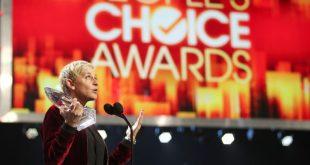 Ellen DeGeneres a marqué l'histoire en devenant la personne la plus récompensées aux People's Choice Awards