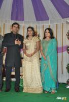 Actress Navya Nair Marriage Wedding reception Photos (40)