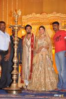 Rambha reception photos Ramba with Indra Kumar Reception Marriage Photos (1)