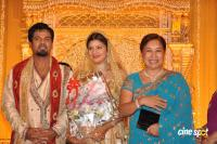 Rambha reception photos Ramba with Indra Kumar Reception Marriage Photos (5)