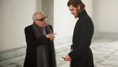 Silence Photo Martin Scorsese, Andrew Garfield