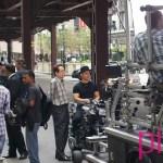 "Aamir Khan en Chicago durante el rodaje de ""Dhoom: 3"""