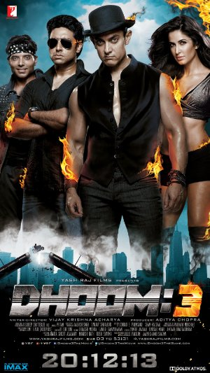 Dhoom: 3 poster