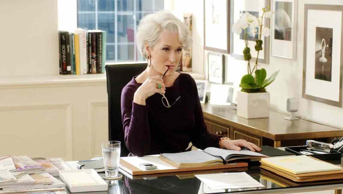Meryl Streep il diavolo veste Prada