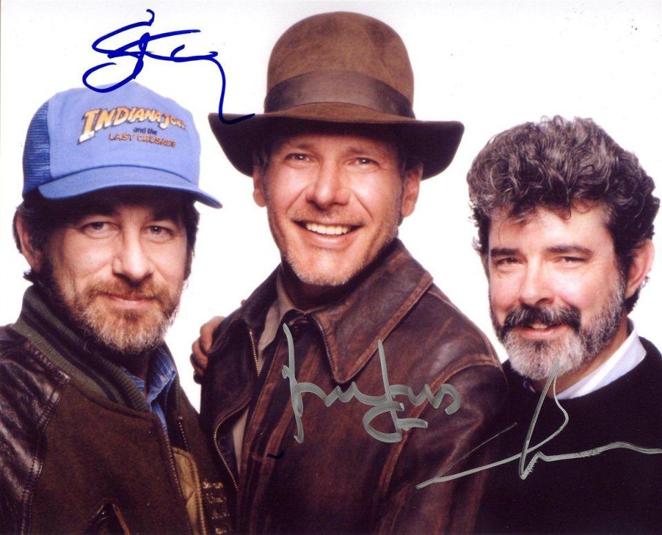 Indiana Jones Steven Spielberg e George Lucas