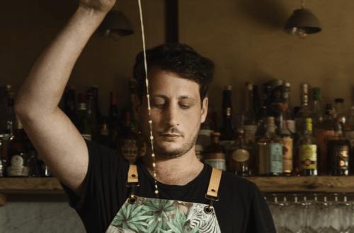 Federico Diddi cocktail pomodori verdi fritti