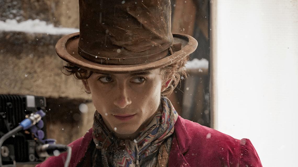 willy Wonka chalamet