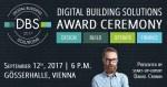 Digital Building Solutions – Award Ceremony 2017