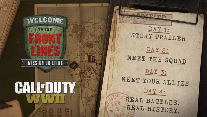 Call of Duty: WWII, gli Alleati scendono in campo in nuovi video