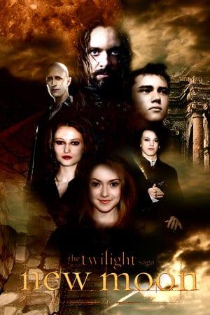 """I Volturi. Locandina di """"New Moon"""""""