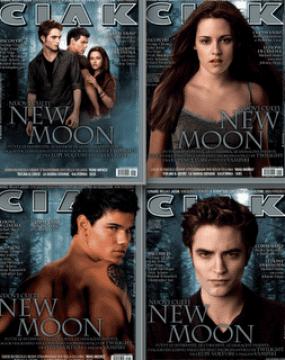 Le quattro copertine di Ciak, nel numero di novembre