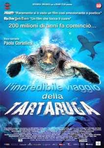 """Locandina de """"L'incredibile viaggio della tartaruga"""""""