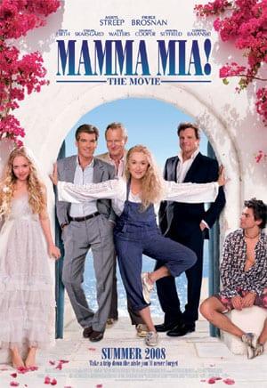 """Locandina di """"Mamma mia!"""" 2008"""