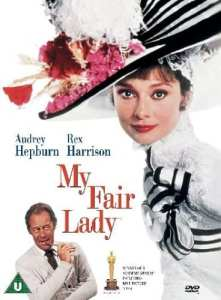 "Locandina di ""My Fair Lady"" del 1964"