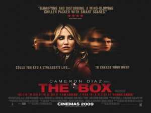 "Locandina di ""The Box"""