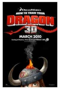 "Locadina di ""How to train your Dragon"""