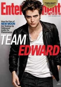 Entertainment Weekly - Robert Pattinson (Team Edward)