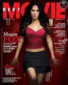 Best Movie - Cover di Dicembre 2009 - Megan Fox