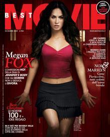 Best Movie - Cover di Dicembre 2009 - Megan Fox