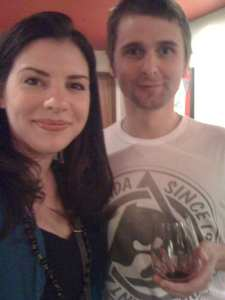 Matthew Bellamy e Stephenie Meyer