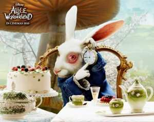 Alice in Wonderland - Character poster