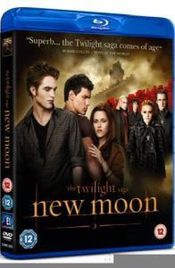 """The Twilight Saga: New Moon"" - Copertina del Blu Ray Disc"