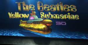 "Logo di ""Yellow Submarine"" in 3D"
