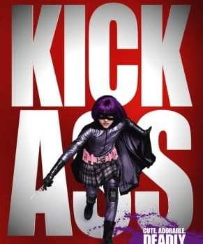 "Locandina inglese di ""Kick-Ass"""