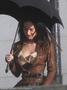 "Megan Fox sul set di ""Jonah Hex"""