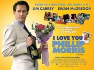 """Locandina di """"I Love you Philip Morris"""""""