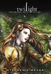 "Copertina del primo volume di  ""Twiligh: the graphic novel"""